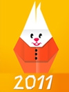 New Year and Christmas e-card (Flash)