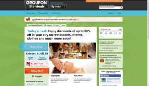 GroupOn Australia Stardeals.com.au