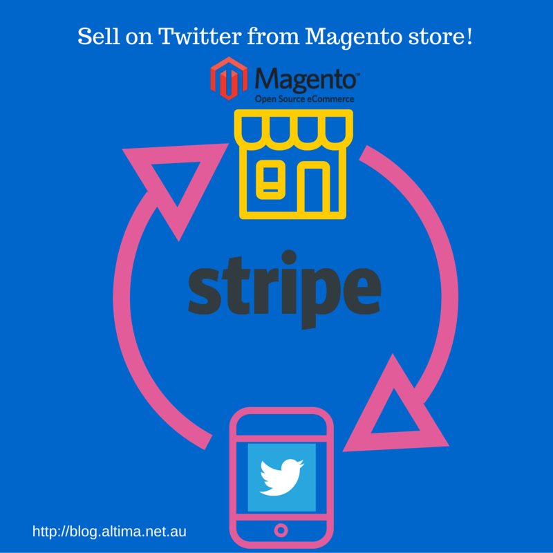 Sell on Twitter from Magento Store with Altima extension