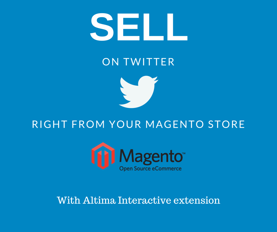 Sell On Twitter Magento Extension